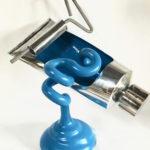 """""""Sometimes"""" Aluminium & Painted Steel $2800 Aldo Bilotta"""