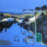 """Streeton Views 1"" Oil on Linen $1500 Emmy Mavroidis"