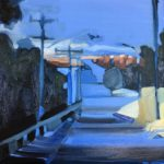 """Streeton Views 2"" Oil on Linen $1500 Emmy Mavroidis"
