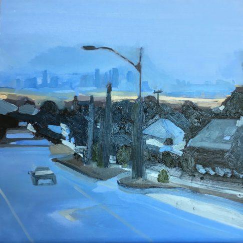 """Streeton Views 3"" Oil on Linen $1500 Emmy Mavroidis"