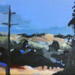 """Streeton Views 4"" Oil on Linen $1500 Emmy Mavroidis"