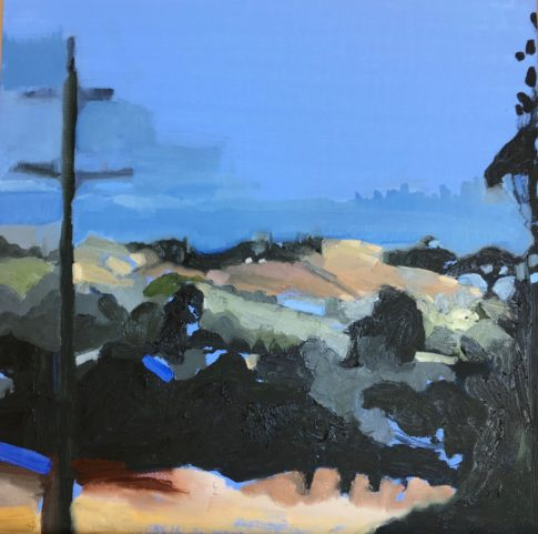 """Streeton Views 4"" Oil on Linen $1500 Emmy Mavroidis"