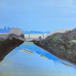 """Streeton Views 5"" Oil on Linen $1500 Emmy Mavroidis"