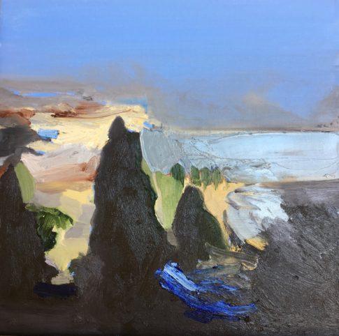"""Streeton Views 7"" Oil on Linen $1500 Emmy Mavroidis"